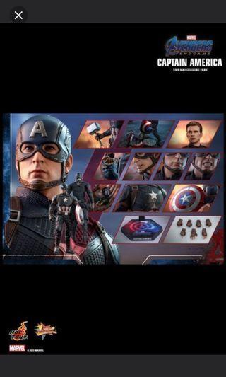 Hottoys Captain America 美國隊長訂單