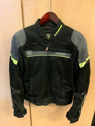 Komine Riding Jacket Euro Size M Japan Size L
