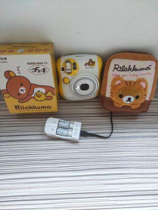 Fujifilm instax mini 25 拉拉熊拍立得