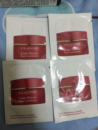 $10/6ml/clarins lisse minute base comblante instant smooth perfecting touch 妝前美肌相