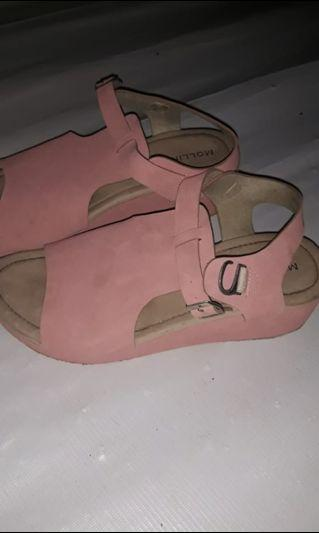 #mauthr mollinic pink Wedges