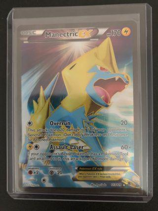 Pokemon: Manectric EX 113/119 Full Art