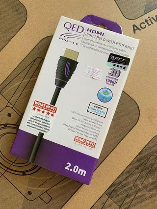 QED HDMI High speed with Ethernet