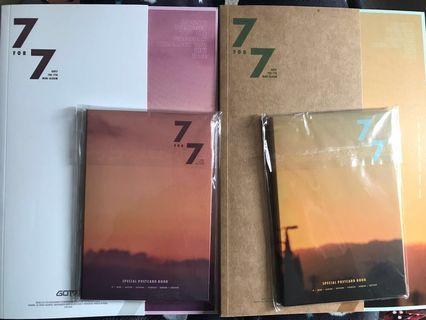 GOT7 albums, fans, pcs