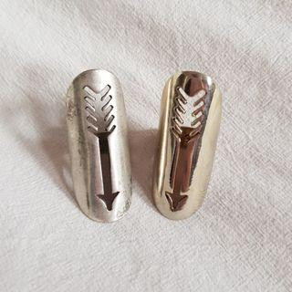 Authentic House of Harlow Arrow Rings sz 5-6