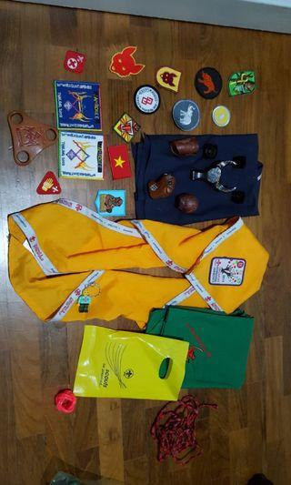 Scout Woggles Badges And Scarves