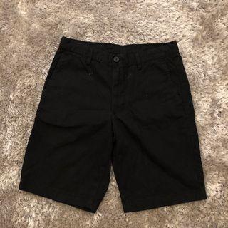 Celana Pendek Chino Uniqlo - Hitam Size S