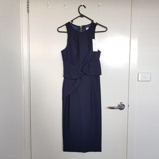 Sheike Formal Navy Dress