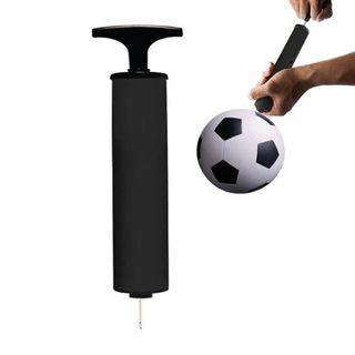 Portable Basketball Soccer Ball Inflator Mini Air Hand Pump Tire Needle Adapter