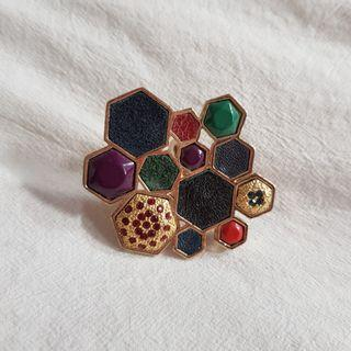House of Harlow Statement Ring size7