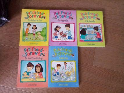 Pet Friends Forever books, take all 5 for $180!