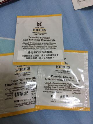 $10/4.5ml/kiehls powerful-strength line reducing concentrate 維他命c抗衰老精華