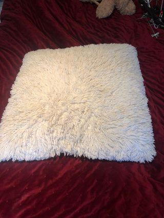Giant white pillow