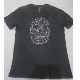 (((降價!合購優惠)))GAP 骷髏-T Shirt-BK(詳見商品敘述)