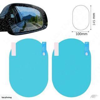 Car Vehicle Rearview Side Mirror Window Anti-fog Rainproof Glass Film Sticker