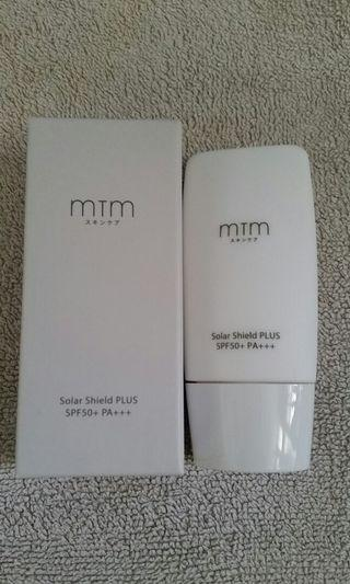 全新MTM  solar Shield PLUS SPF50+PA+++