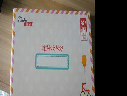 🚚 (Brand new) milestones envelopes booklet
