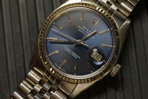 Rolex 16014 DJ Blue dial