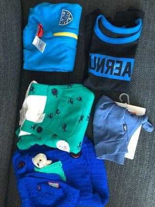 Baby boy bundle - 0 - 6 months