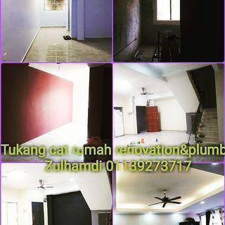 Renovation&plumber cat rumah Dan kami juga pakar dalam memperbaiki rumah dan pejabat zulhamdi no 01139273717 whatsapp sy
