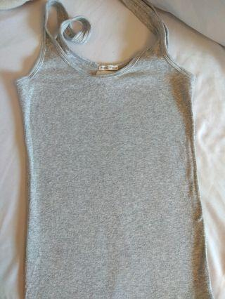 Abercrombie & Fitch (A&F) Grey Tank Top