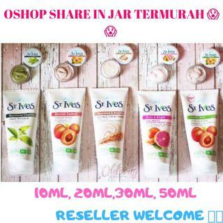 PROMO ST IVES SHARE IN JAR - TRAVEL SIZE 10 ML  ST IVES APRICOT SCRUB JAKARTA