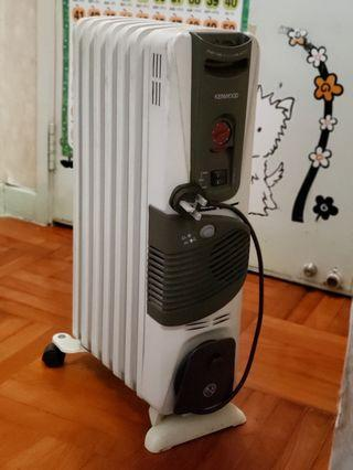 Kenwood油壓式電暖爐