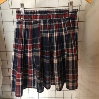 🚚 格子褲裙