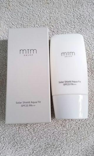 全新MTM Solar Shield Aqua Fit SPF 25 PA++(30g)