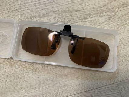 🚚 FREE DELIVERY - LOOPS POLARIZED CLIP ON SUNGLASSES (UP $20)