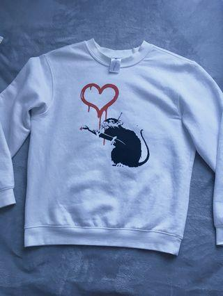 Banksy Authentic print jumper