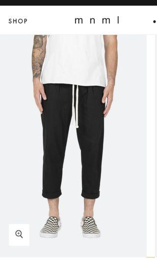 mnml Bassic Cropped Pants