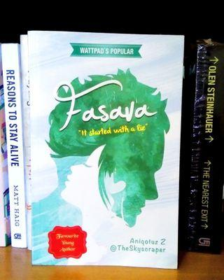 Novel bekas Fasava Aniqotus Z #mauthr