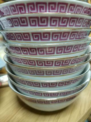 Bowls for Rice or Deserts