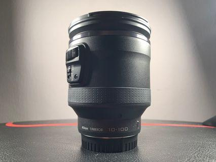 Nikon 1 10-100mm lens