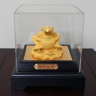 Golden Wealth Toad 招财金蟾蜍