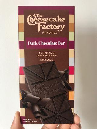 The Cheesecake Factory - Dark Chocolate Bar