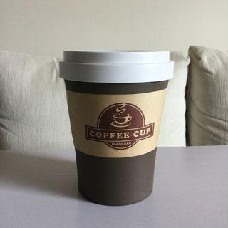 🚚 咖啡杯造型垃圾桶