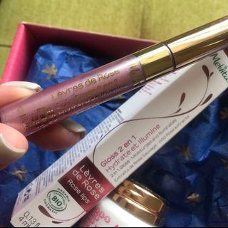Lip care & lip gloss set