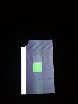 galaxy v damage screen