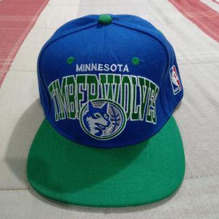 online store 106a6 7d948 Legit Brand New Without Tags Mitchell   Ness NBA Minnesota Timberwolves  Classics Retro Adjustable Cap Hat
