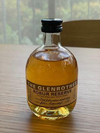 Glenrothes Single Malt Whiskey, Robur Reserve 100ml