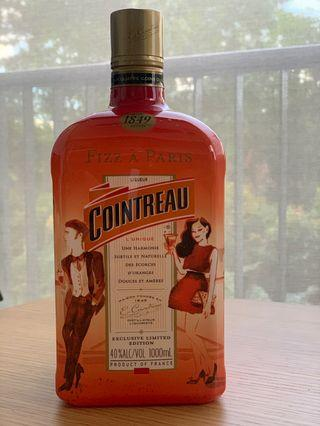 Cointreau 1L, Fizz A Paris Edition