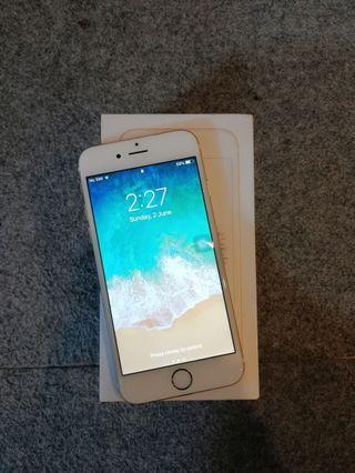 Iphone 6 32GB Gold Like New with Box
