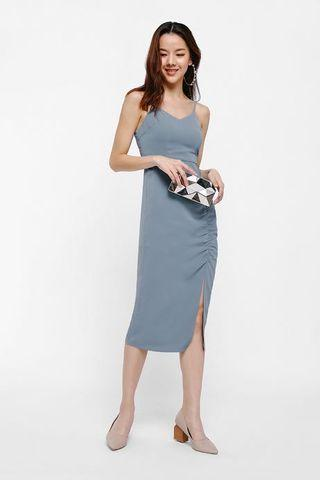 🚚 Love Bonito Britta Ruch Hem Bodycon Dress