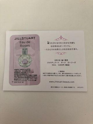 Jill Stuart Eau de Roses sample