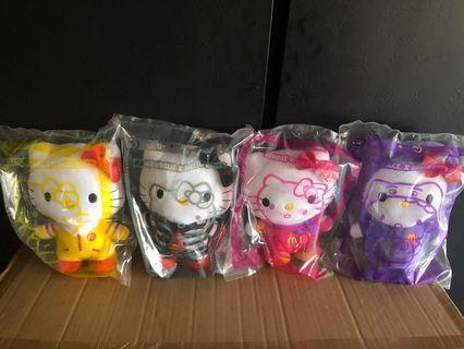 Hello Kitty x McDonalds stuff toys (1 set)