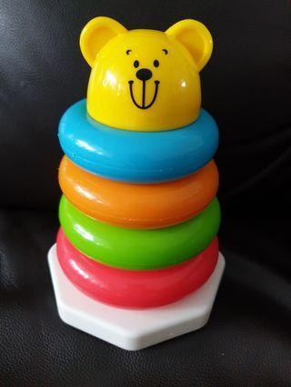 🚚 Maidenhead rainbow stacking toy