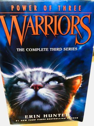 🚚 Warriors - the complete third series