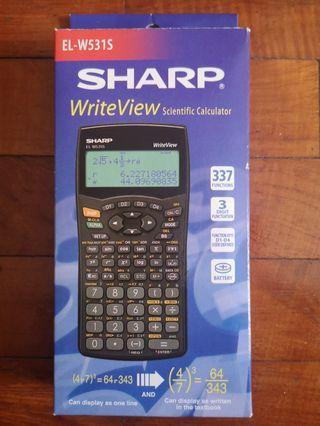 🚚 Sharp EL-W531S scientific calculator